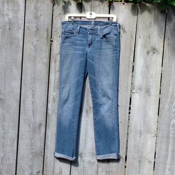 7 For All Mankind Denim - 7 For All Mankind Straight Leg Jeans